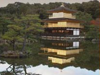 The Temple of the golden Pavilion.